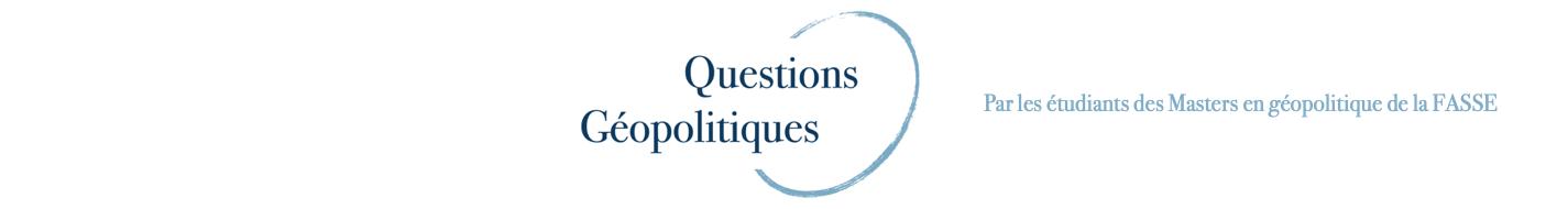 Questions Géopolitiques